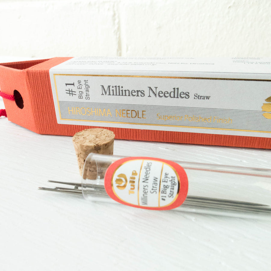 Tulip Hiroshima Milliners Needles Straw #1 Needles - Snuggly Monkey