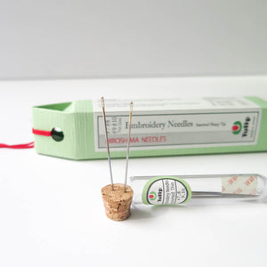 Tulip Hiroshima Embroidery Needles - Thin Sizes