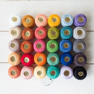 The Ultimate Pearl Cotton Thread Collection Perle Cotton - Snuggly Monkey