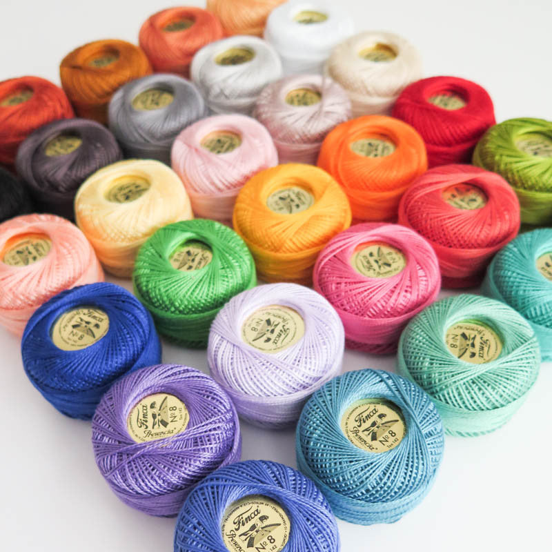 The Ultimate Pearl Cotton Thread Collection