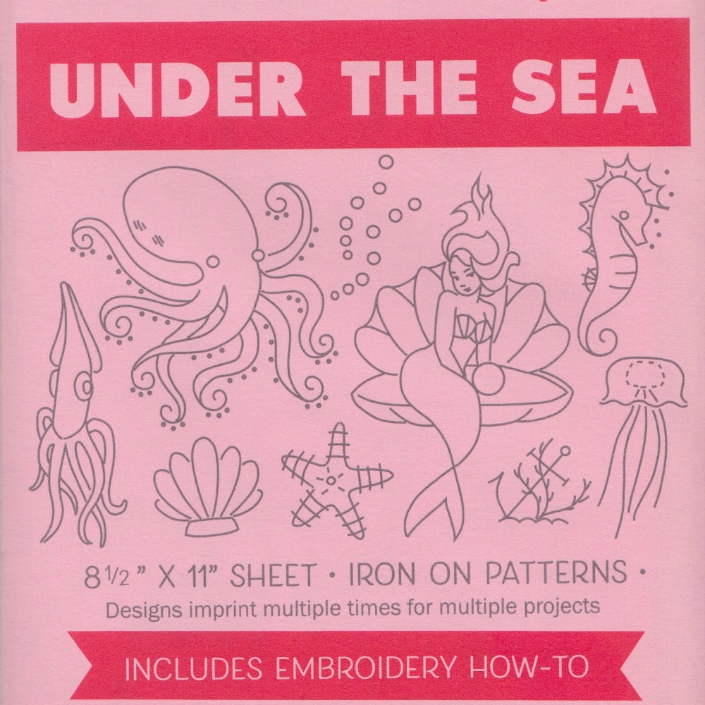 Sublime Stitching Embroidery Pattern :: Under the Sea Patterns - Snuggly Monkey
