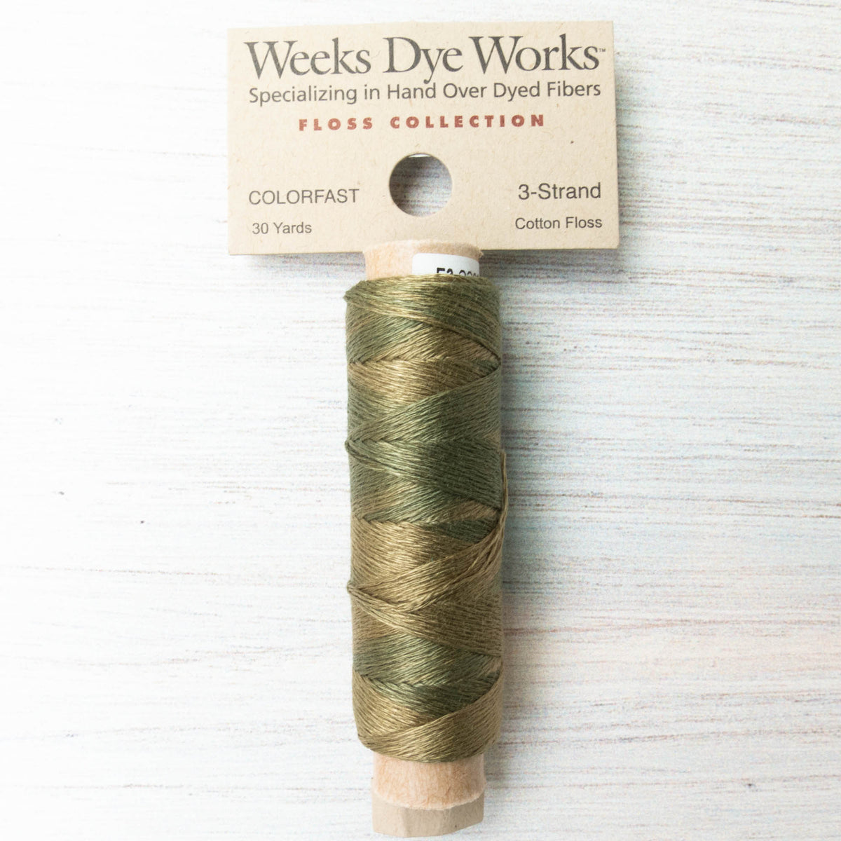 Weeks Dye Works 3 Strand Floss - Kudzu