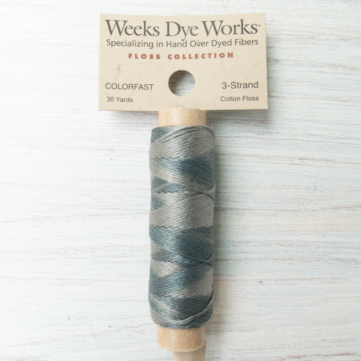 Weeks Dye Works 3 Strand Floss - Dolphin
