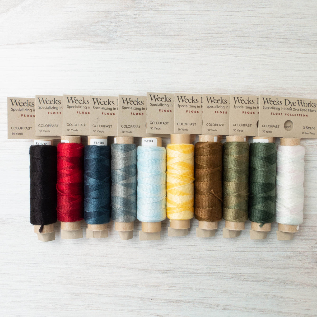 Weeks Dye Works 3 Strand Floss - Saisho Collection