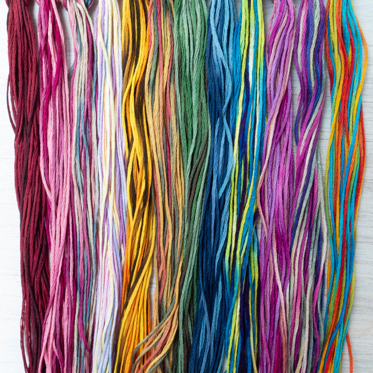 Weeks Dye Works Embroidery Floss Holiday Collection (12 skeins)