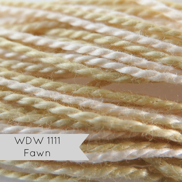 Weeks Dye Works Perle Cotton Floss - Fawn (Size 5)