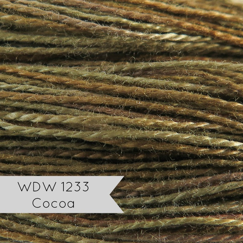 Pearl Cotton Thread - Weeks Dye Works Hand Cocoa (Size 8)