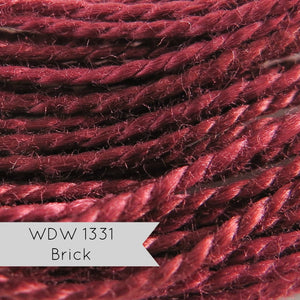 Weeks Dye Works Pearl Cotton - Brick (Size 5)