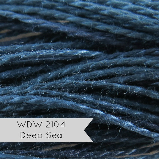 Weeks Dye Works Pearl Cotton Thread - Size 8 Deep Sea