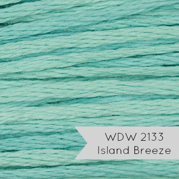 Weeks Dye Works Embroidery Floss - Island Breeze (2133)