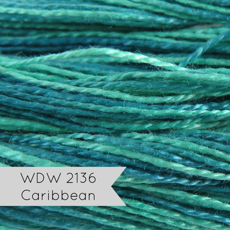 Weeks Dye Works Pearl Cotton - Size 8 Caribbean Perle Cotton - Snuggly Monkey