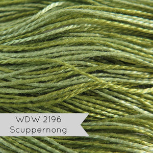 Pearl Cotton Thread - Weeks Dye Works Scuppernong (2196) Size 8