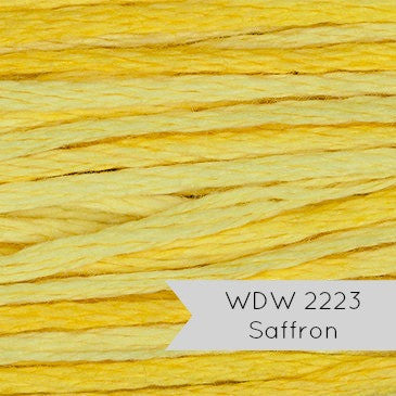 Weeks Dye Works Hand Over Dyed Embroidery Floss - Saffron (2223)