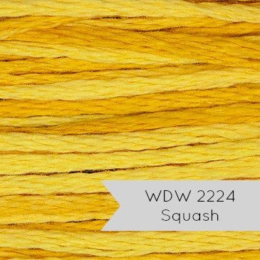 Weeks Dye Works Hand Over Dyed Embroidery Floss - Squash (2224)