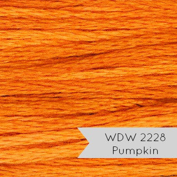 Weeks Dye Works Hand Over Dyed Embroidery Floss - Pumpkin (2228) Floss - Snuggly Monkey
