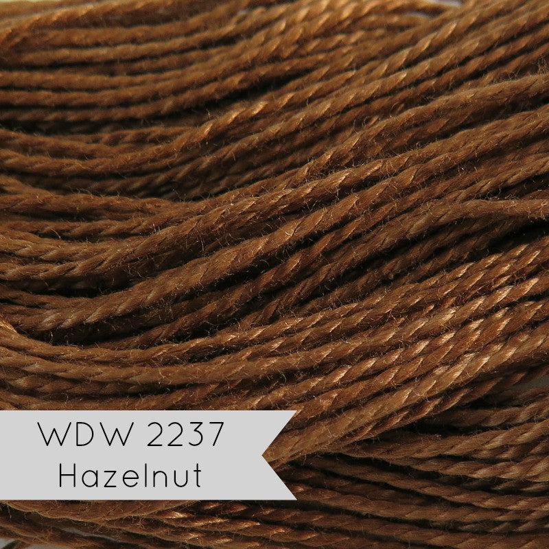 Weeks Dye Works Hand Over-Dyed Pearl Cotton - Size 5 Hazelnut