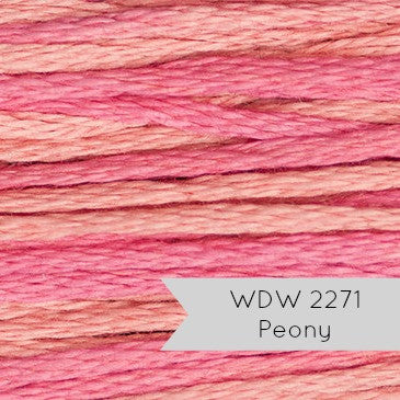 Weeks Dye Works Embroidery Floss - Peony (2271)