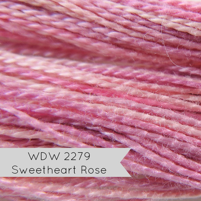 Sweetheart Rose Weeks Dye Works Perle Cotton Floss - Size 8