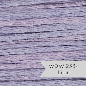 Weeks Dye Works Hand Over Dyed Embroidery Floss - Lilac (2334) Floss - Snuggly Monkey
