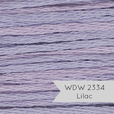 Weeks Dye Works Hand Over Dyed Embroidery Floss - Lilac (2334)