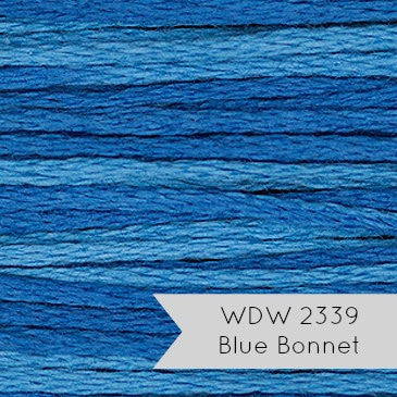 Weeks Dye Works Hand Over Dyed Embroidery Floss - Blue Bonnet (2339)