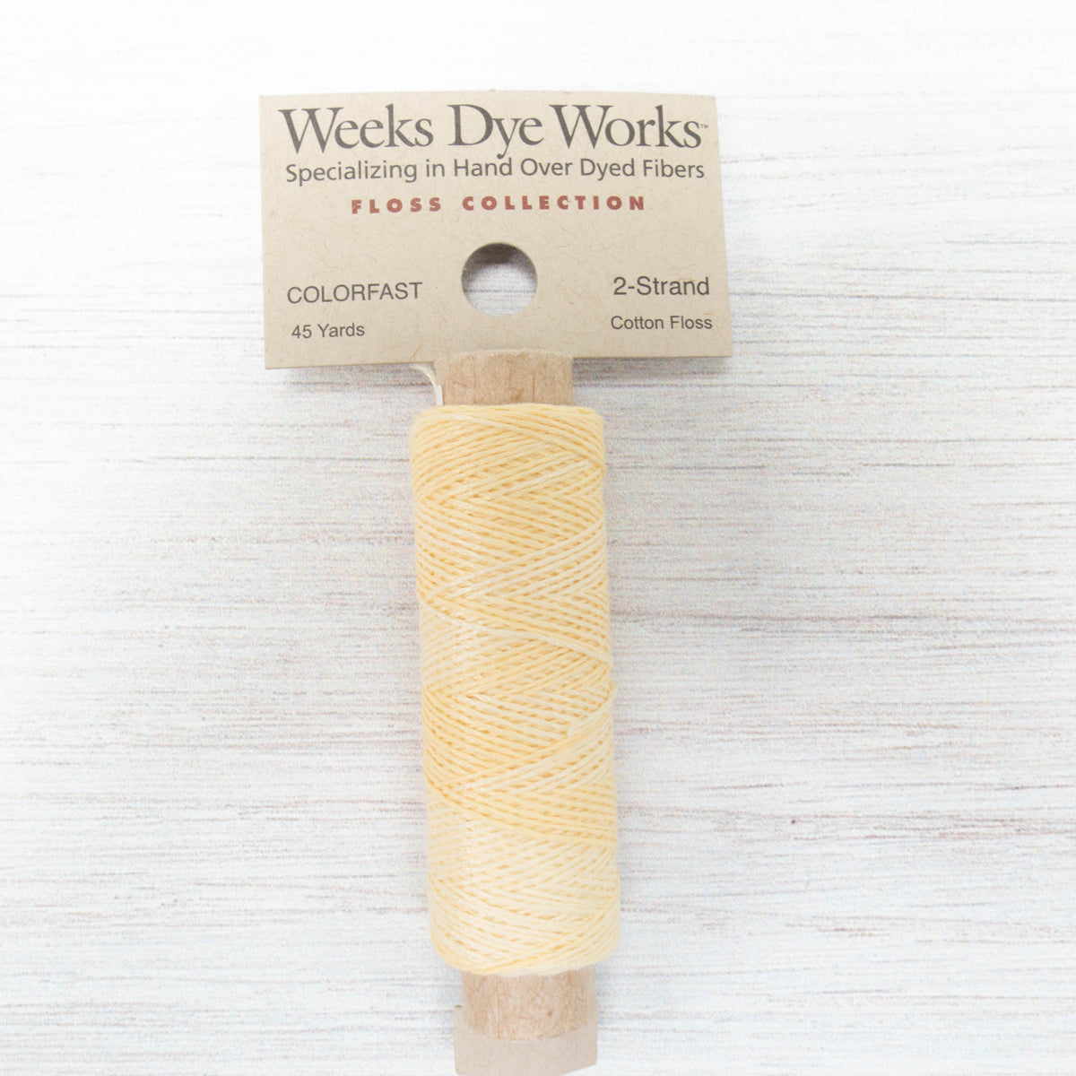Weeks Dye Works 2 Strand Floss - Honeysuckle (1108)