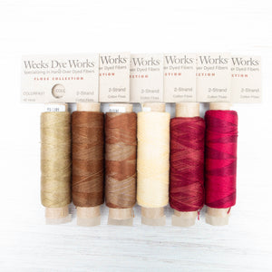 Weeks Dye Works 2 Strand Floss - Apple Woods Set