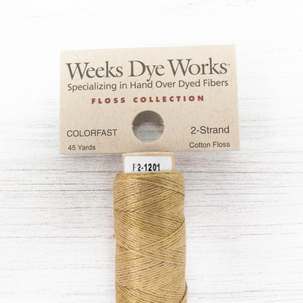 Weeks Dye Works 2 Strand Floss - Putty (1201)