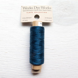 Weeks Dye Works 2 Strand Floss - Navy Floss - Snuggly Monkey