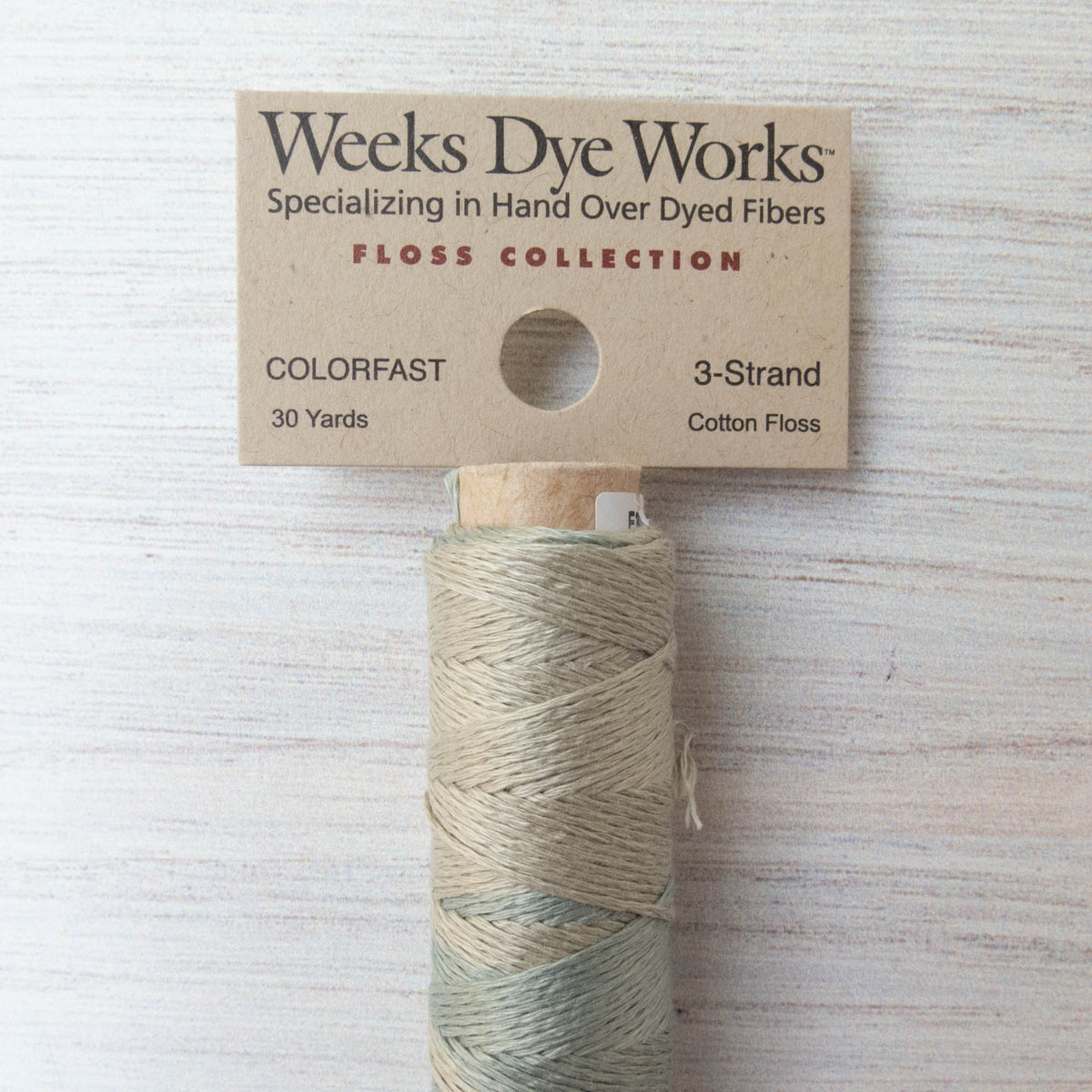 Weeks Dye Works 3 Strand Floss - Dove