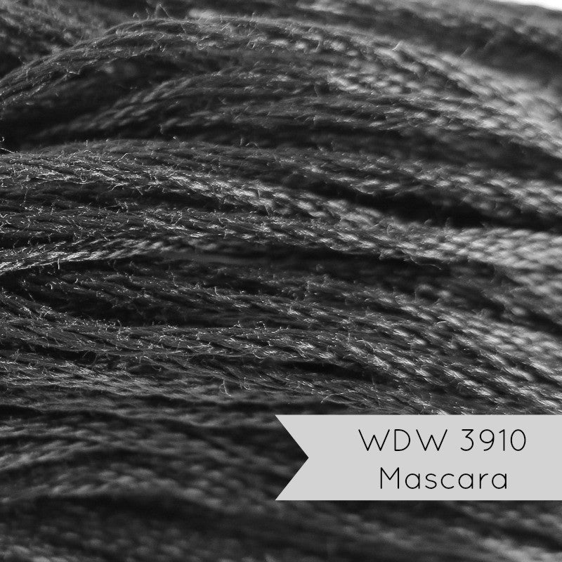 Weeks Dye Works Embroidery Floss - Mascara (3910) Floss - Snuggly Monkey