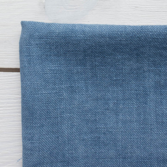 Weeks Dye Works Hand Dyed Linen - Denim 32 ct