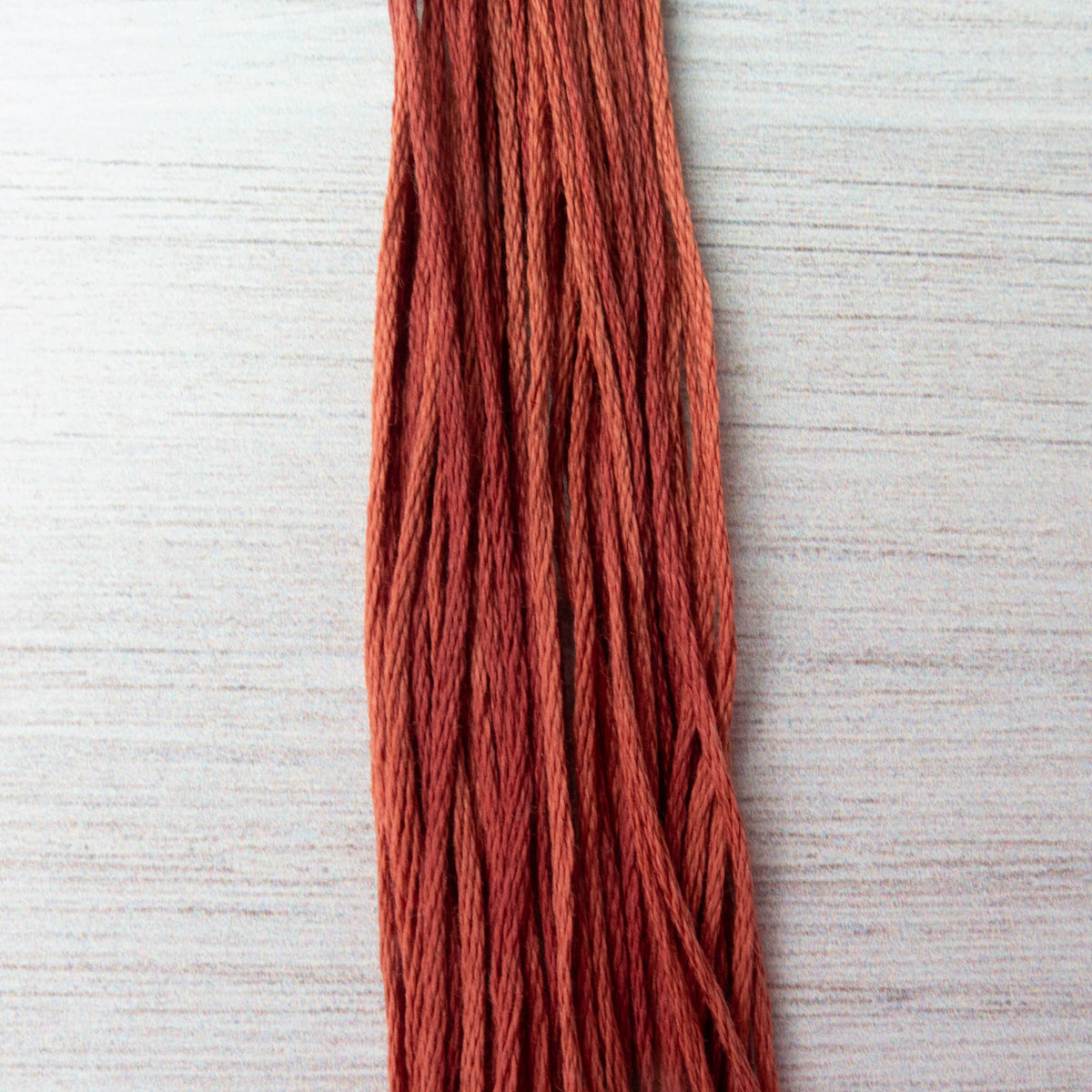 Weeks Dye Works Hand Over Dyed Embroidery Floss - Carolina Clay (2239a) Floss - Snuggly Monkey