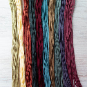 Weeks Dye Works Embroidery Floss Solids Collection (10 skeins) Floss - Snuggly Monkey