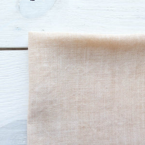 Weeks Dye Works Hand Dyed Linen -32 ct Cross Stitch Fabric Parchment