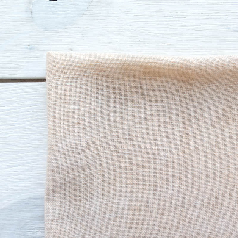 Weeks Dye Works Hand Dyed Linen -32 ct Cross Stitch Fabric Parchment Fabric - Snuggly Monkey
