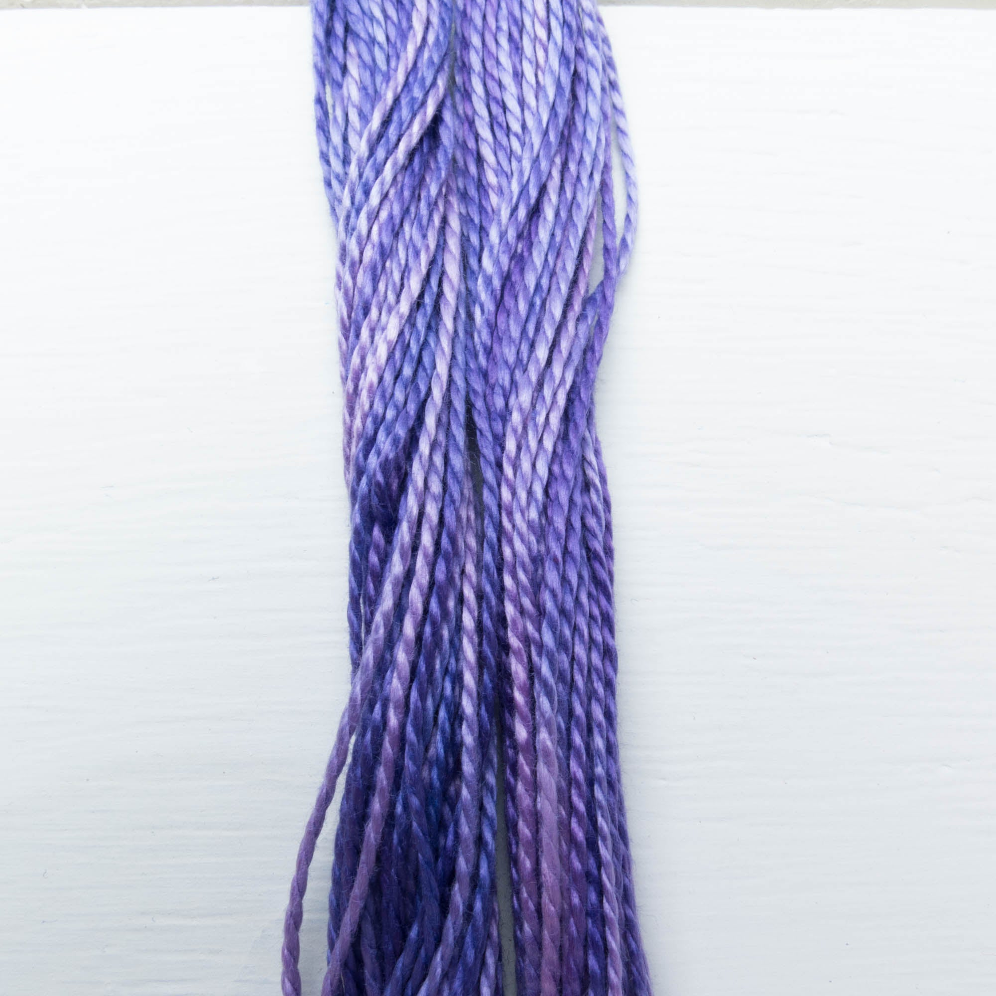 Size 3 Perle Cotton Thread - Weeks Dye Works Peoria Purple (2333) Perle Cotton - Snuggly Monkey