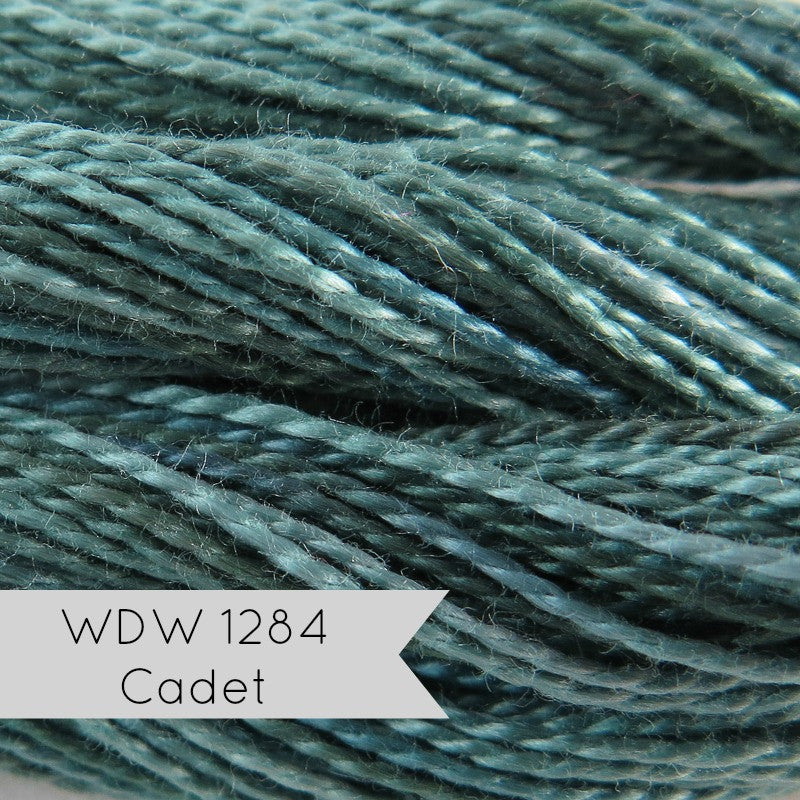 Weeks Dye Works Pearl Cotton - Size 8 Cadet Perle Cotton - Snuggly Monkey