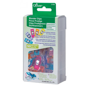 Rainbow Wonder Clips (50 pack)