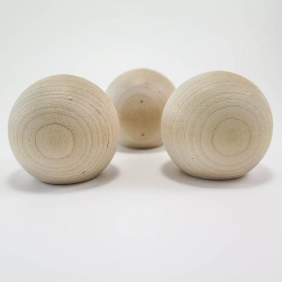 2 inch Wooden Knobs (2 pk)