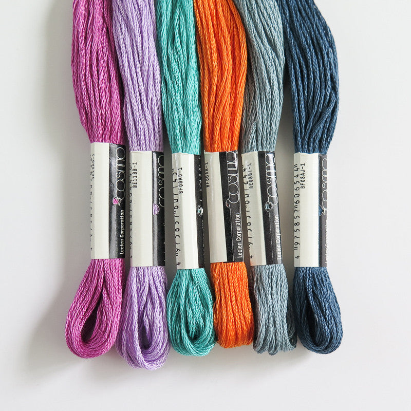 Grand Central Embroidery Thread Set Floss - Snuggly Monkey