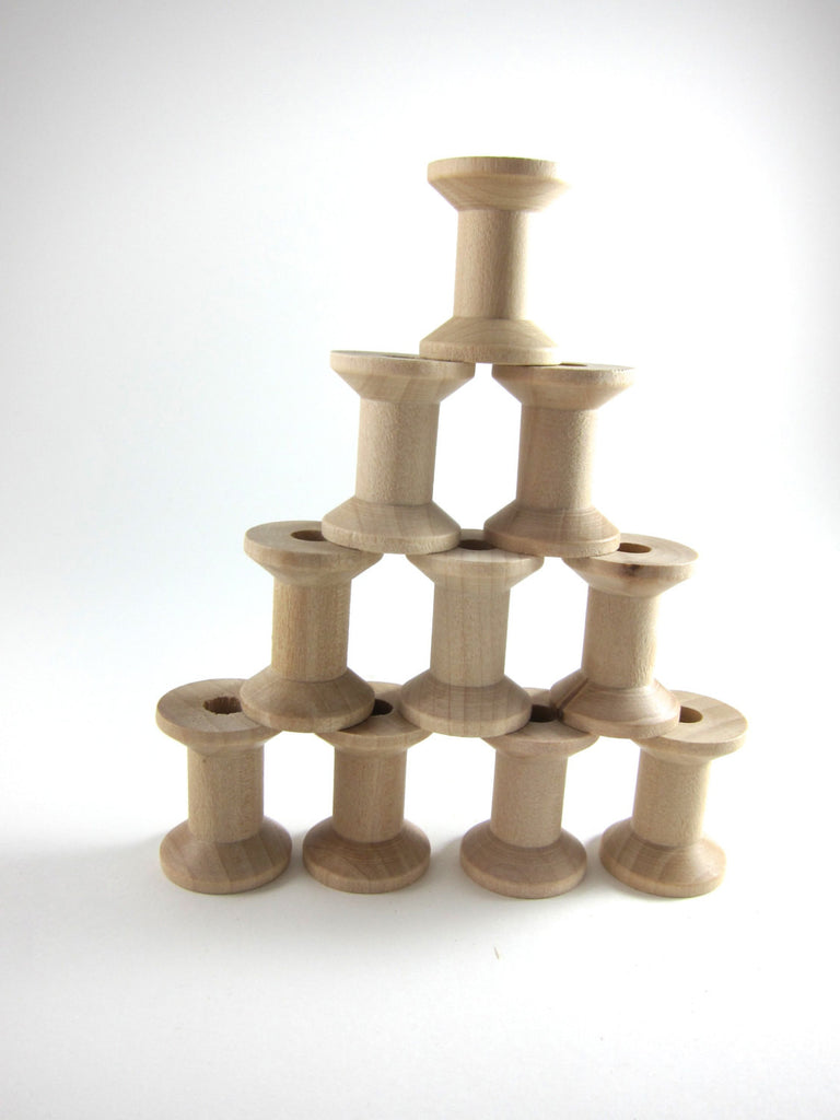 Wood Thread Spools