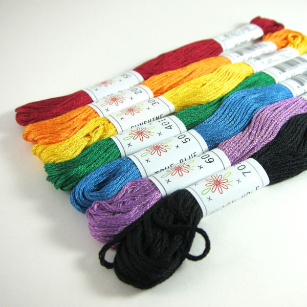 Sublime Stitching Rainbow Embroidery Floss Set Floss - Snuggly Monkey