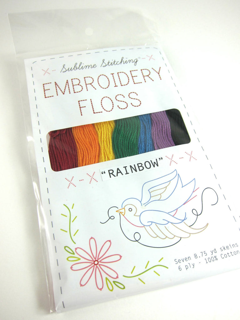 Sublime Stitching Rainbow Embroidery Floss Set