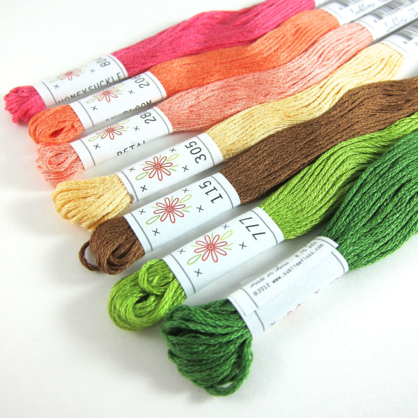 Embroidery Floss Set - Sublime Stitching Flower Box Palette