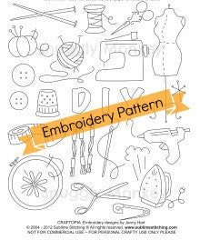 Sublime Stitching Craftopia Hand Embroidery Pattern Patterns - Snuggly Monkey