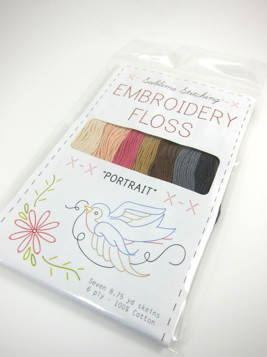 Embroidery Floss Set - Sublime Stitching Portrait Palette Floss - Snuggly Monkey