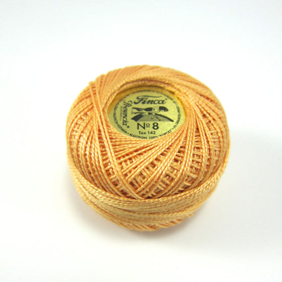 Autumn Gold Finca Perle Cotton Thread