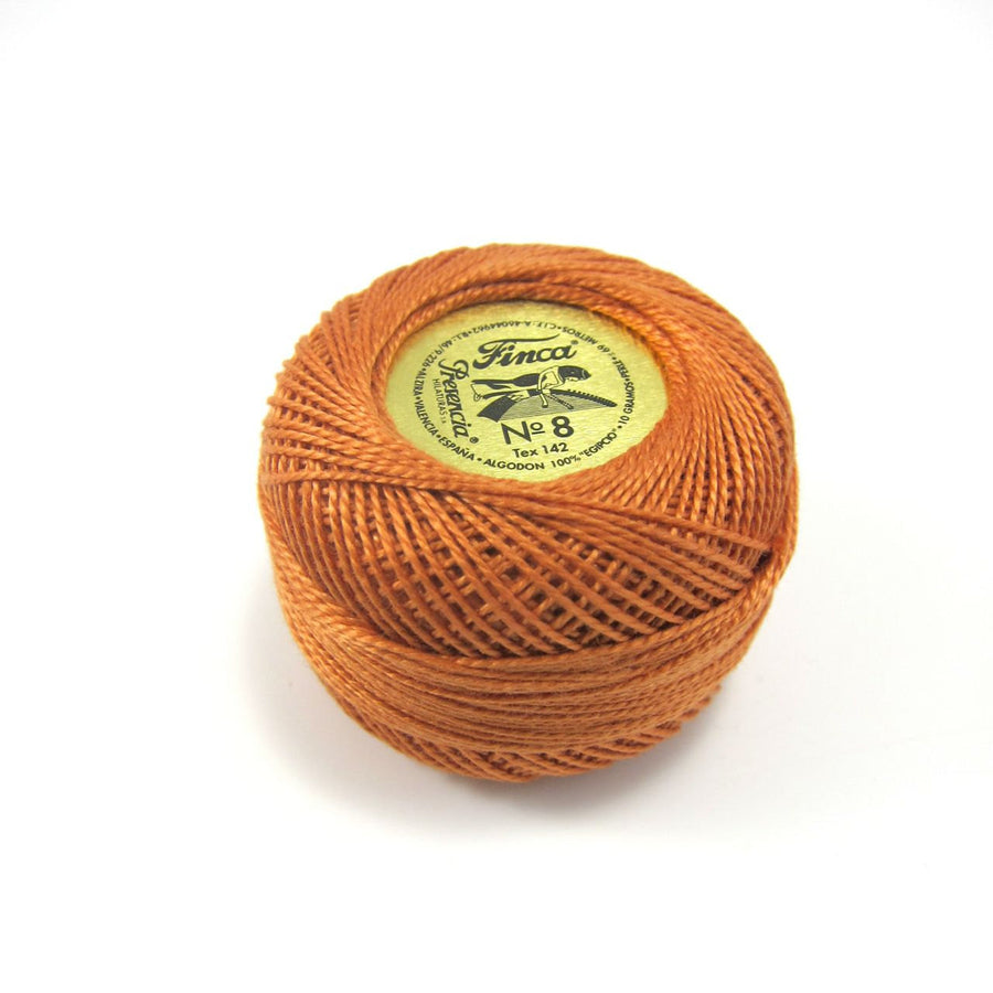 Copper Finca Pearl Cotton Thread (7644) Perle Cotton - Snuggly Monkey