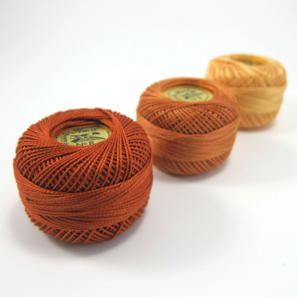 Autumn Finca Perle Cotton Thread Set